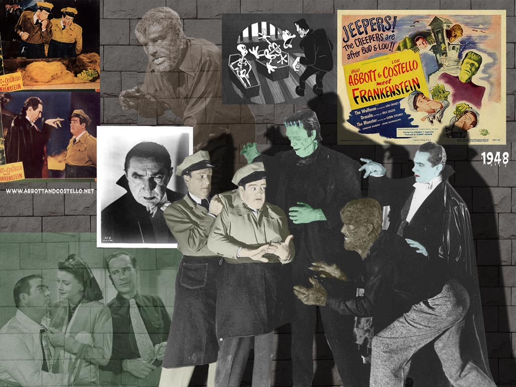 Bud Abbott Wallpapers frankenstein lou costello abbott and costello meet frankenstein abbott